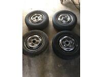 Ford Transit wheels & tyres