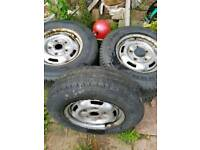 Transit 16 inch wheels tyres