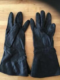 Harley Davison ladies leather gloves