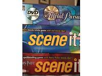 3 DVD board games