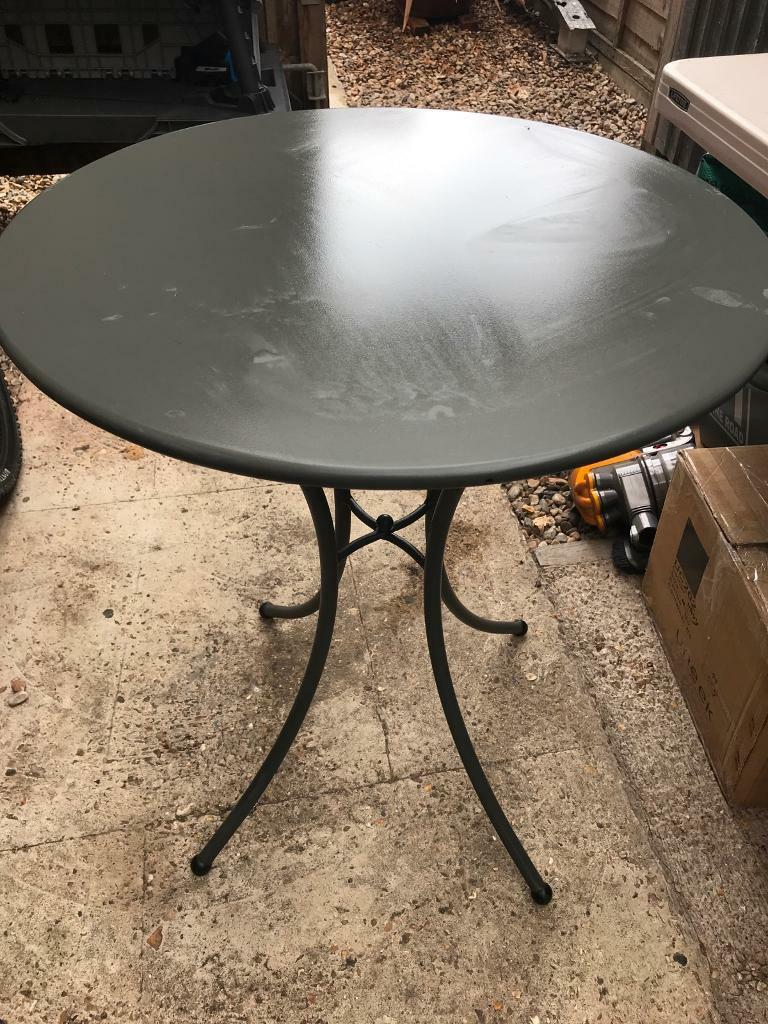Garden Bistro Table Used