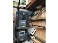 FREE electric lawnmower buyer collects