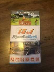 Aquarius 15 in 1 sports pack