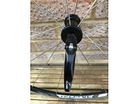 Bicycle wheels for sale. Fulcrum 5, 28 inch racing wheels.