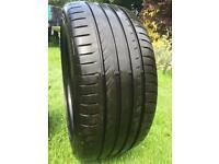 Two Fulda SportControl Tyres 235/40 R18 91Y - Great Condition
