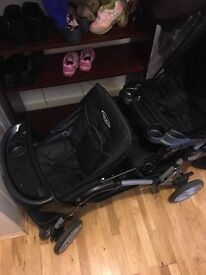 Used Graco Pushchair. Good used condition. With car seat.