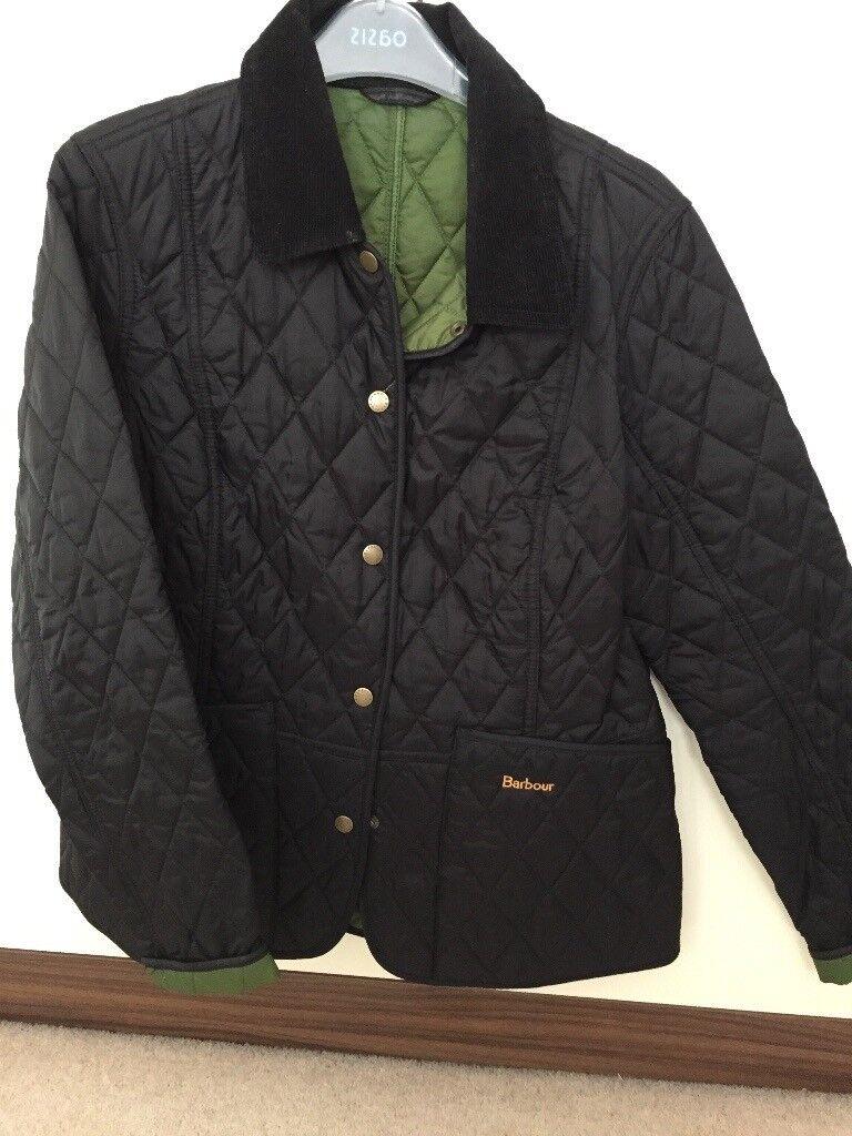 Barbour Jacket women's size 14 Dark Navy