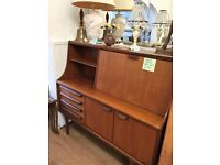 1970's Retro Younger Solid Teak Sideboard