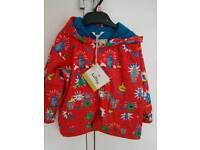 Hatley brand new boys rain jacket. 2years.