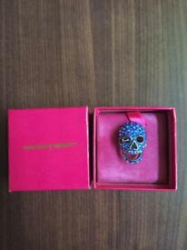 Butler and Wilson Swarovski Skull ring