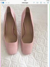 Ladies Pink Zara Shoes -Size 6