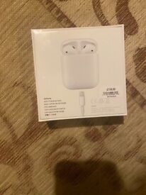 Apple AirPods 2nd Gen - Brand New (In Box, Unopened)