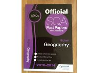 Higher Geography Past Papers 2010-2014