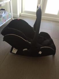 Recaro young profi plus car seat including isofix