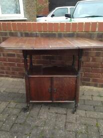 Antique table / cupboard