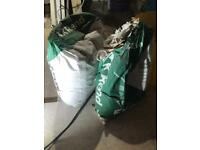 1 and a half bags of K-rend