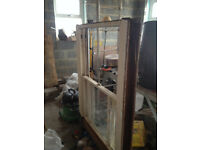 reclaimed window sash and weights included