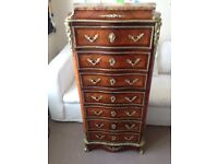 Antique French Secretaire Cest of Drawers