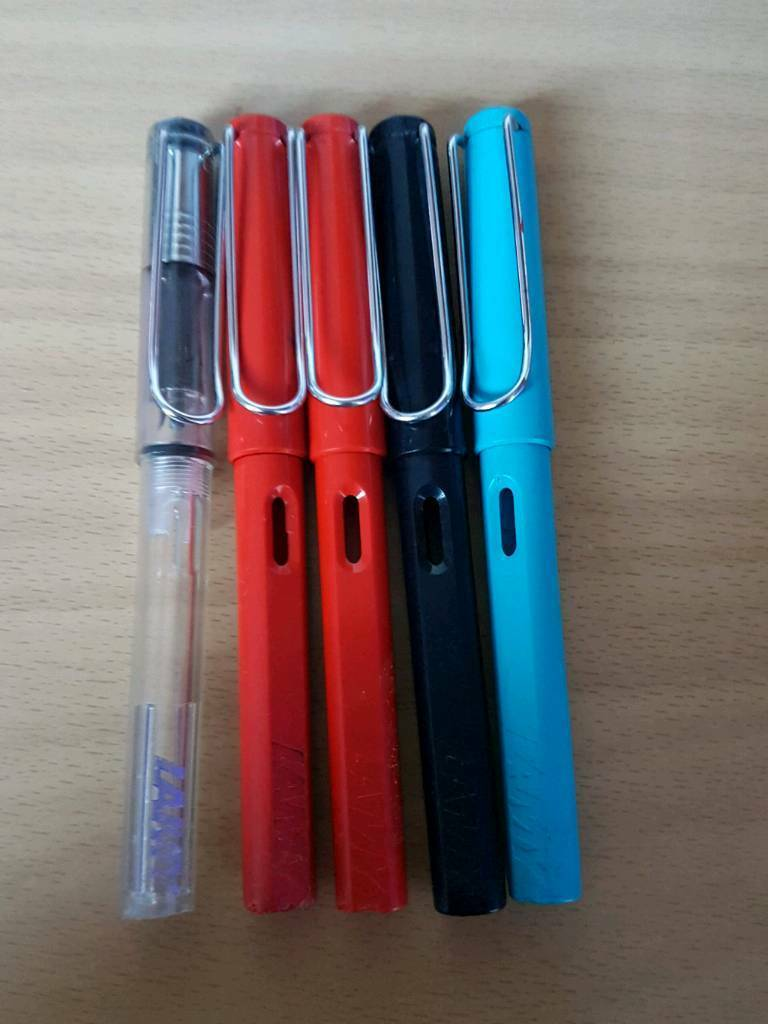 Lamy fountain pens - used