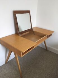 Retro 1950's style Made Walnut Desk