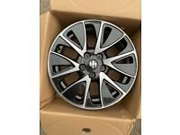 "Suzuki SK4 Swift 17"" Alloy Wheel Metallic Grey Diamond Cut 43210-61M7"