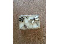 Earring jewellery box
