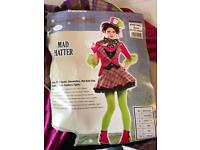 Mad hatter costume age 10-12