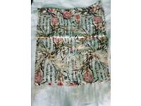 Brand new silk scarf double layer