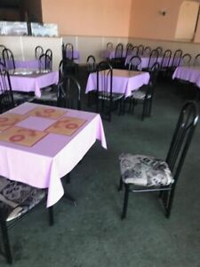 Restaurant table & chairs