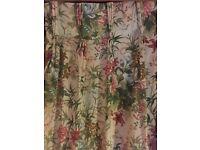 3 pairs Crowson triple pleat curtains