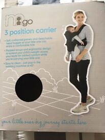 Mothercare 3 Position Baby Carrier