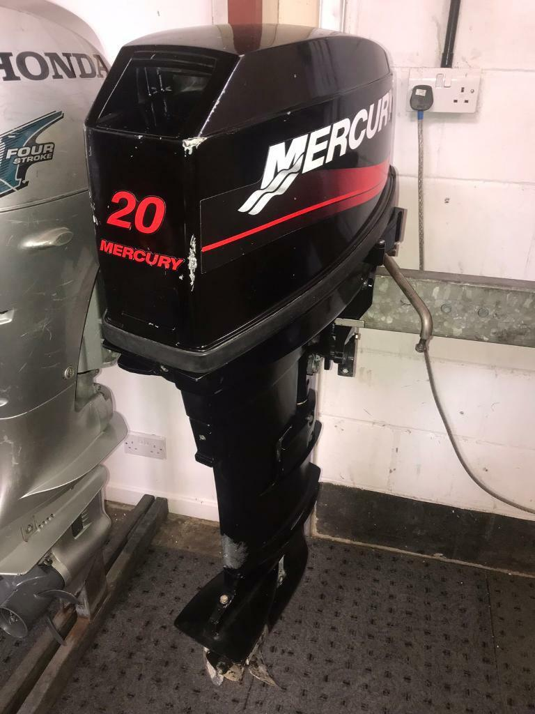 Mercury 20HP Long Shaft Electric Start Outboard with remotes | in Soham,  Cambridgeshire | Gumtree