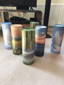 6 Scatter Tubes for Loved Ones Ashes