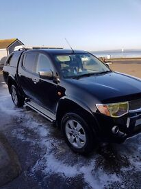 58 plate mitsubishi l200 animal, long mot