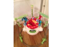 Fisher Price Jumperoo Rainforest *excellent condition*
