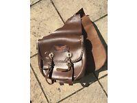 Leather Pannier