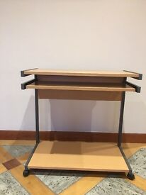 Wooden Desk with Pull-out Draw