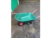 Plastic wheelbarrow excellent condition