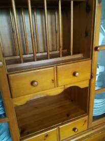 Wooden antiqe Cupboard/ storage