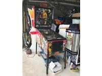 Pinball machine Data East Hook