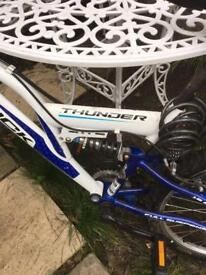 A boy's bike in a good condition