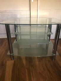 Glass TV Table Stand, Coffee Table & Side Table