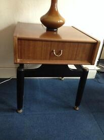 Vintage retro g plan e/gomme occasional table.