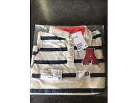 Boys H&M striped polo shirt - new