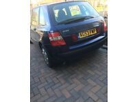 Fiat Stilo, blue. Good condition inside and out