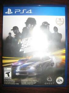 Need for Speed: Deluxe Edition for Sony Playstation PS4 Game System. Five ways to play. Stunning new World