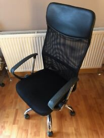 Office chair black mesh - Good condition