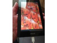Asus 7 inch 16GB tablet mint as new condition.