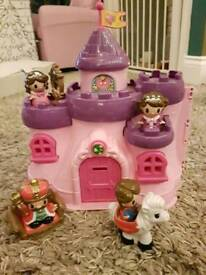 Princess castle and figures