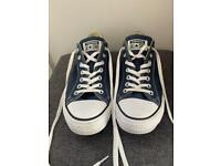Navy Converse All Star Lo-tops